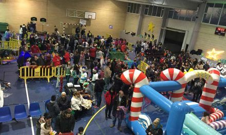 Niños y Mayores disfrutaron en el Día de Reyes