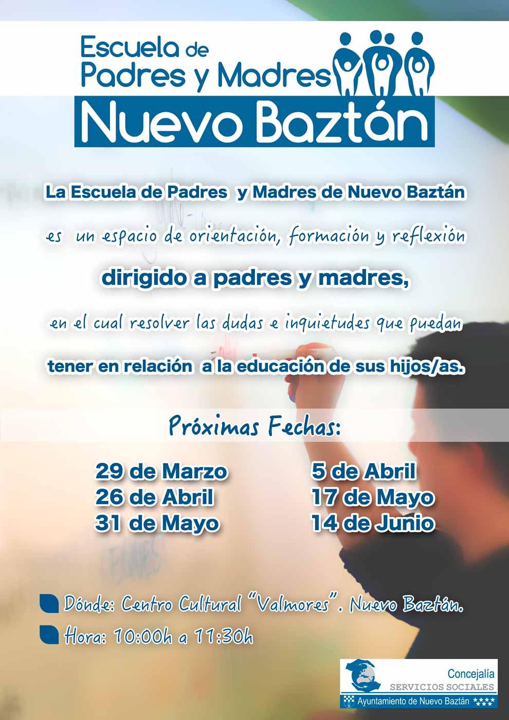 La Escuela de Padres y Madres de Nuevo Baztán