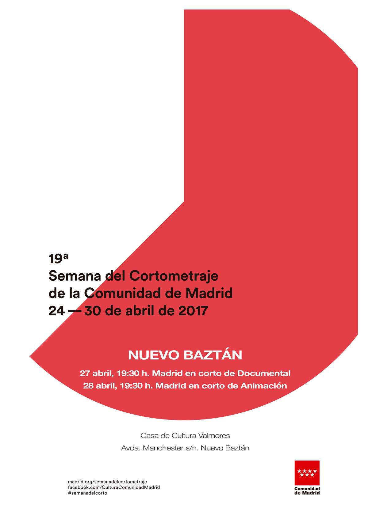 19 Semana del cortometraje de la Comunidad de Madrid