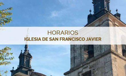 Horarios de la Iglesia de San Francisco Javier