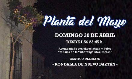 Domingo 30 de Abril, Plantá del Mayo