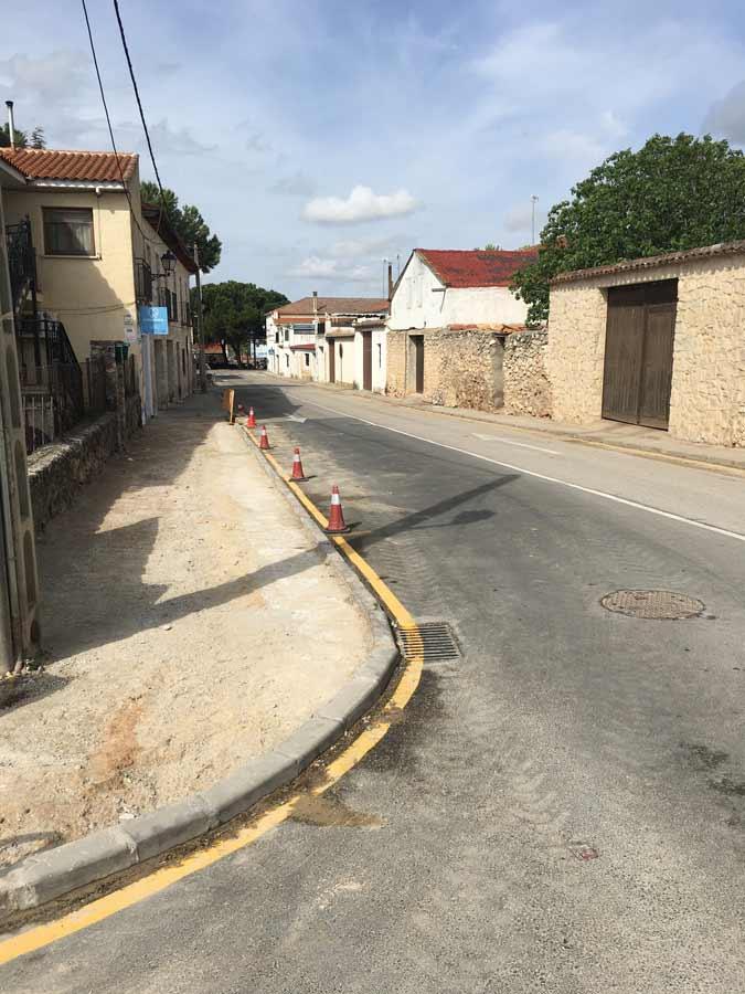 Pavimentación de varias calles del Casco Urbano de Nuevo Baztán