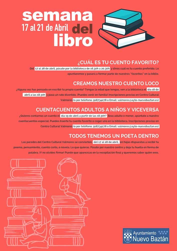 Semana del Libro en Nuevo Baztán 2017