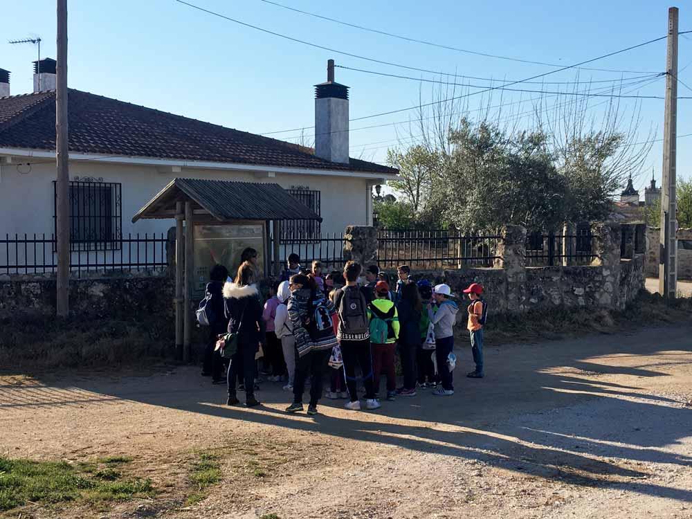 CEIP Juan de Goyeneche visita la Senda de Valmores