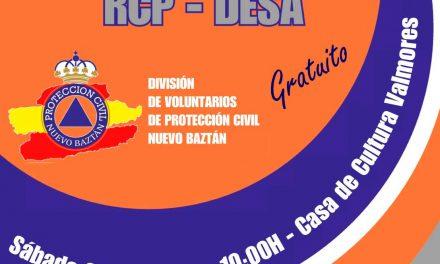 Curso básico de primeros auxilios (RCP – DESA)