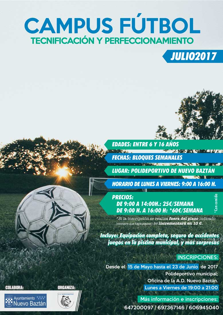 Campus de Fútbol de verano