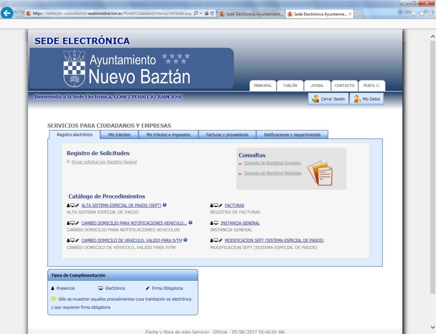 Sede Electrónica Ayto. de Nuevo Baztán