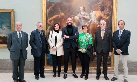 El Consejero de Cultura presenta en la Real Academia de Bellas Artes de San Fernando un libro que analiza el proyecto arquitectónico e histórico de Nuevo Baztán