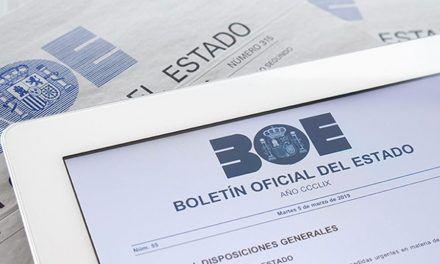 Ayudas publicadas en BOE para zonas afectadas por las lluvias