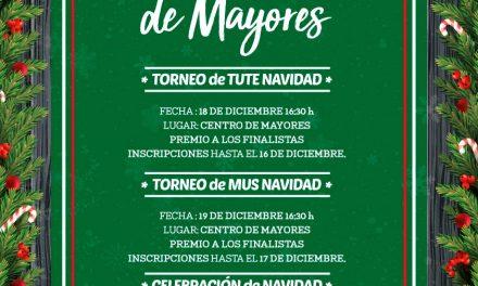 Actividades de Navidad del Centro Municipal de Mayores