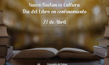 Nuevo Baztán es Cultura. Día del Libro en confinamiento.