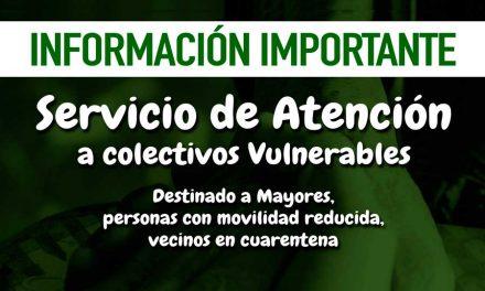 Resumen de actuación del programa de Atención y Acompañamiento a Personas Vulnerables