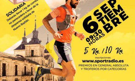 La Concejalía de Deportes organiza la I Carrera Popular Churrigueresca
