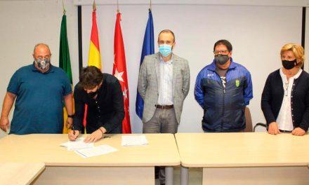 La A.D. Nuevo Baztán y la U.D. Villar del Olmo se unen para potenciar al fútbol en el sureste