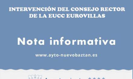La Intervención del Consejo Rector de la EUCC Eurovillas continúa