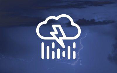 Avisos AEMET por tormentas. Posibilidad de fuertes lluvias en otoño