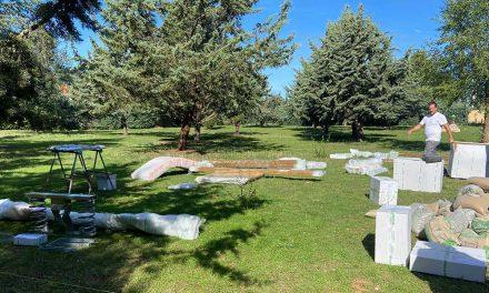 Parque Infantil en Las Villas. Inversión de más de 14.000 euros